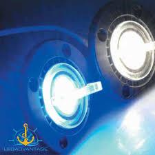 Boat Drain Plug Light La Ma 0234w 12v Ultimate Cool White Underwater Transom Led Bung