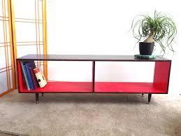Mcm Furniture Mid Century Modern Record Vinyl Cabinet Media Table Tv Stand