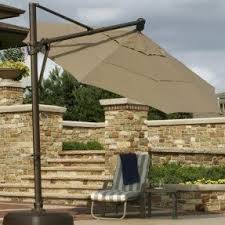 sunbrella cantilever patio umbrella foter