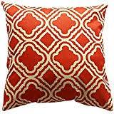 amazon com orange throw pillows decorative pillows inserts