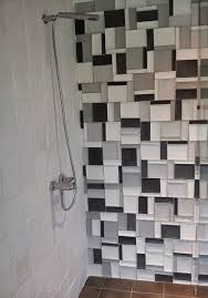 Avente Tile Talk March 2012 Elevations Concave Rectangles Used As Shower Accent Wall Shown In