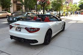 new maserati convertible 2014 maserati granturismo mc convertible stock m152 s for sale
