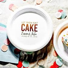 personalized cake plate party plates cake plates let them eat cake personalized