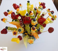 fruit flower arrangements food fruit flower bouquet