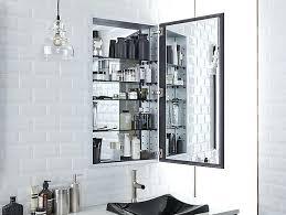 frameless recessed medicine cabinet recessed mirrored medicine cabinet akapello com