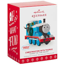 christmastime thomas tank engine ornament keepsake