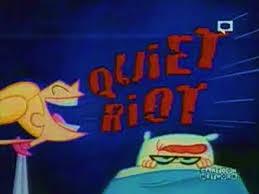 image quiet riot 0001 jpg dexter u0027s laboratory wiki fandom