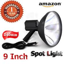 hand held spot light amazon hand held hid spotlight 488w 9 240mm handheld driving spot light