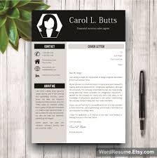 Best Resume Templates With Photo by Clean Resume Template With Photo Cover Letter U2013 U201ccarol L U201d