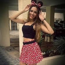 Minnie Mouse Halloween Costume Diy Costume Ideas Teens Diy Costumes Minnie Mouse Costumes