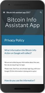 bitcoin info how to publish an assistant app that will pass the review
