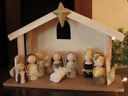 little inspirations wooden doll nativity