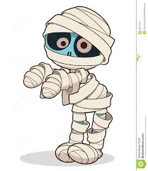 hand clipart mummy pencil and in color hand clipart mummy