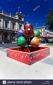 ballarat australia christmas decorations on display in sturt