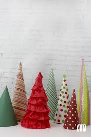 diy decorative paper christmas trees it u0027s a mother thing