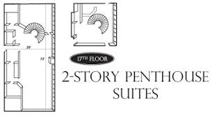spiral staircase floor plan penthouse suites meeting venues at peppermill resort spa casino