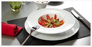 assiette de cuisine assiettes en porcelaine vaisselle professionnelle commandez