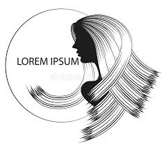gift cards for women silhouettes of women with beautiful hairstyle can be used as
