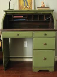 Old Roll Top Desk European Paint Finishes Vintage Roll Top Desk