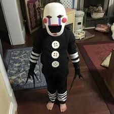Marionette Halloween Costume Ideas Fnaf Marionette Puppet Costume Creations Puppet