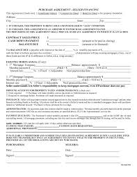 contract financial contract template