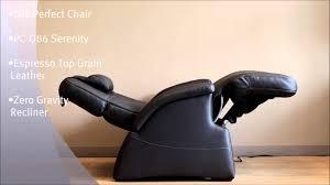 Human Touch Perfect Chair Human Touch Perfect Chair Pc 086 Serenity Electric Zero Gravity