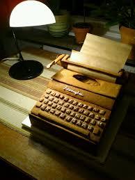 Typewriter Meme - put me like my mom made a gingerbread typewriter