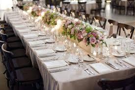 Exotic Banquet Table Decoration Elegant Banquet Tables Were