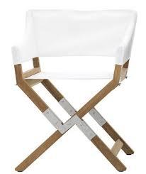 Foldable Armchair Sundance Outdoor Folding Armchair Fabric U0026 Wood White Teck By