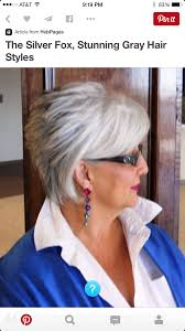 the silver fox stunning grey hair style a bit longer than some