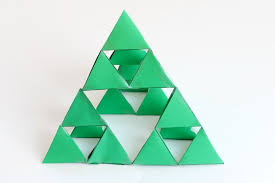 sierpinski fractal triangle math for