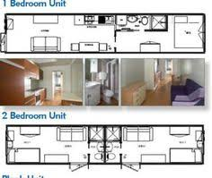 Shipping Container Homes Floor Plans One Bedroom One Bath Shipping Container Home Floor Plan