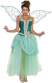 Womens Peacock Halloween Costume Womens Deluxe Emerald Fairy Costume Costume Craze