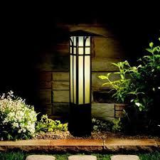 Bollard Landscape Lighting Kichler Mission Style Bollard Path Light Yard Outlet