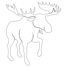 moose template 168 best moose quilt images on animals animals