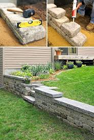 retaining garden wall ideas retaining wall garden bed ideas