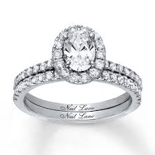 neil bridal set jared neil bridal set 1 3 4 ct tw diamonds 14k white gold