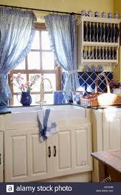 Blue Plaid Kitchen Curtains by Kitchen Staggering Country Kitchen Curtains Throughout Country
