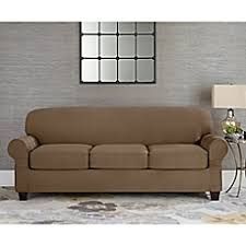 Plush Sofa Cover Sofa Slipcovers Couch Covers And Furniture Throws Bed Bath U0026 Beyond