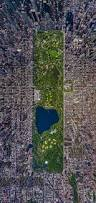 Central Park New York Map by New York City U0027s Central Park From Above Bored Panda