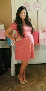 baby shower dress for to be pered pregnancy boutique has a variety of clothing for