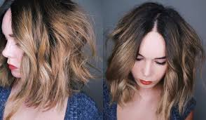 how to style a lob or bob chic beachy waves youtube