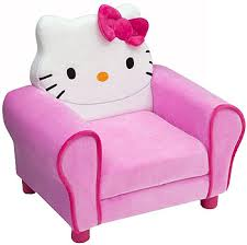 hello kitty deluxe upholstered chair toys