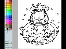 coloring page games garfield coloring pages for kids garfield coloring pages games