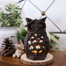 aliexpress com buy vintage cast iron owl candle holder creative