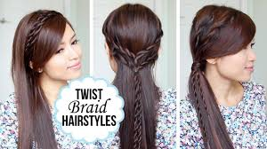 quick and easy hairstyles with a twist youtube