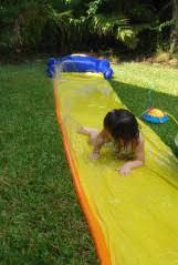 Backyard Slip N Slide Water Play Slip N Slide Theroommom