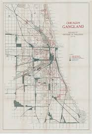 Property Lines Map Mapping Chicago U0027s Gangland During The Roaring Twenties Rare