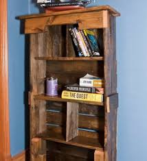Pallet Bookcase Bookshelves Made Out Of Pallets American Hwy Wooden Book