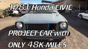 project 81 civic pt 1 the car youtube